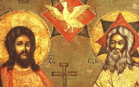 Děkovný akathist k Nejsvětější Trojici za zázrak stvoření a dar spásy