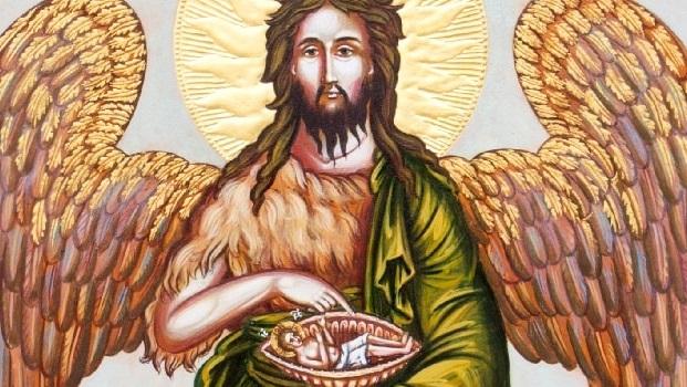 Akathist k sv. Janu Křtiteli, Předchůdci Pánovu