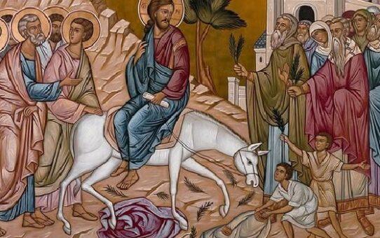 Akathist slavnému vjezdu Pána našeho Ježíše Krista do Jeruzaléma